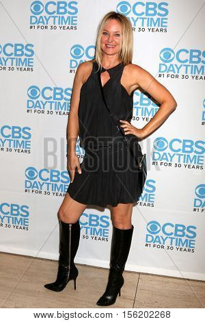 LOS ANGELES - NOV 10:  Sharon Case at the Young & Restless Celebrate CBS 30 Years at #1 at Paley Center For Media on November 10, 2016 in Beverly Hills, CA