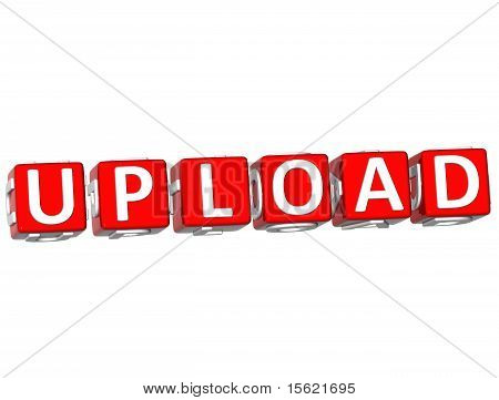 Upload Cube Text