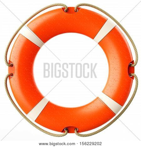 Red Lifebuoy Ring Front