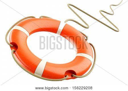 Red Lifebuoy Rope