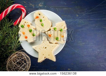 Funny Christmas Food For Kids
