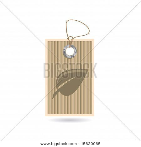 Tag With Leaf