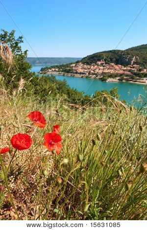 Lac de Saint Croix in the Provence VAR France