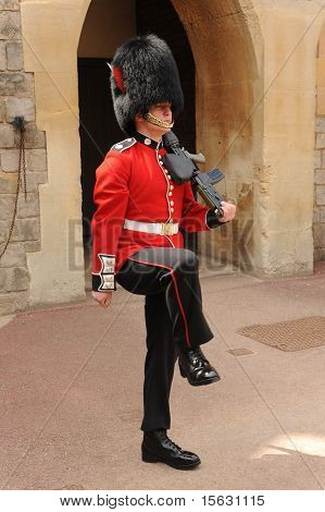Guardsman on parade