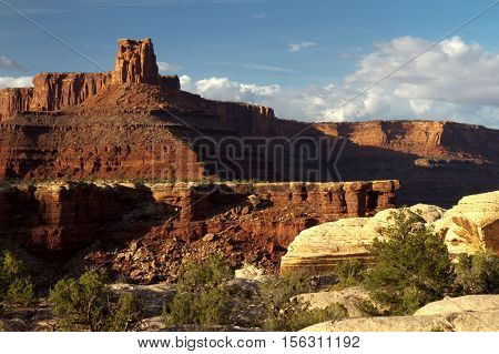 A view from white rim road in Canyonlands National Park