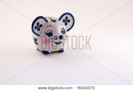 Piggy bank-mouse