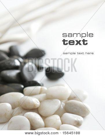 piedras negras & blancos