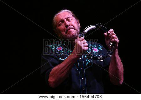LAKE WALES, FL-NOV 4: Doug Gray of the Marshall Tucker Band performs at the CountryFlo Music and Camping Festival on November 4, 2016 in Lake Wales, Florida.
