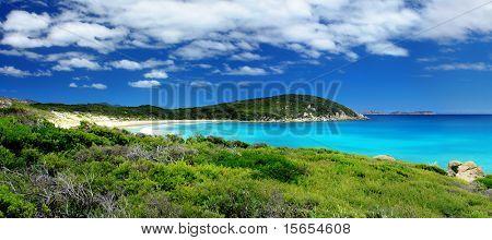 Paisagem panorâmica Praia