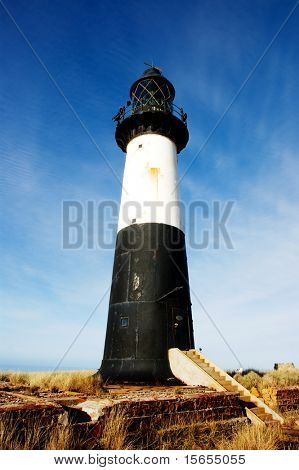 Majestic Lighthouse in the Falkland Islands
