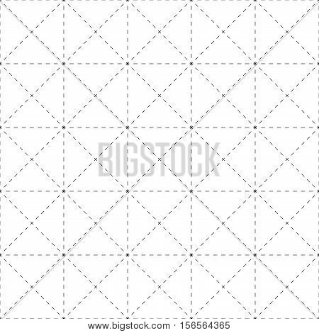 Repeatable Detailed Grid, Mesh Pattern. (black And White Versions)