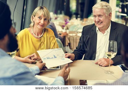 Group Of People Business Meeting Concept