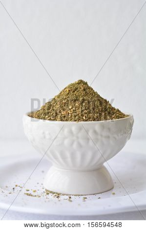 Zaatar- a Middle east special flavourful spice blend