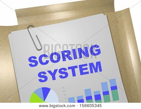 Scoring System - Business Concept