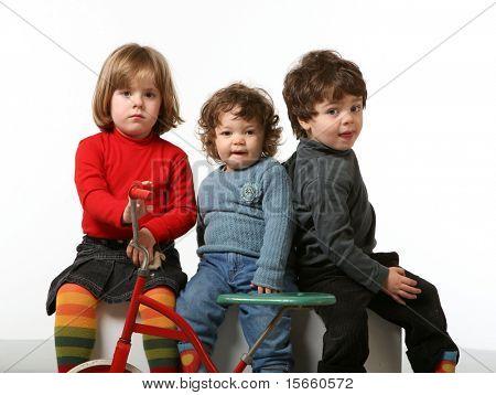 three beautifulst children together