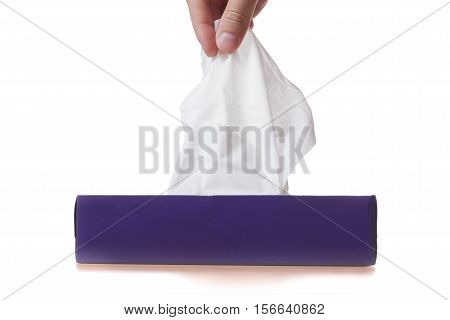 Get a clean handkerchief with the disease, infection, allergy