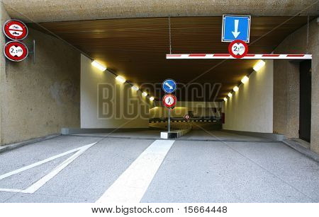 Entry parking