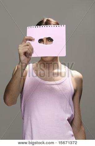 androgynous man
