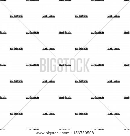 Audio equalizer pattern. Simple illustration of audio equalizer vector pattern for web