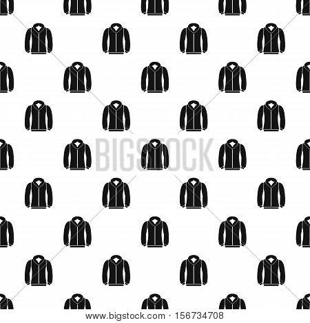 Sweatshirt pattern. Simple illustration of sweatshirt vector pattern for web
