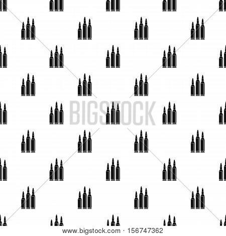 Bullets pattern. Simple illustration of bullets vector pattern for web