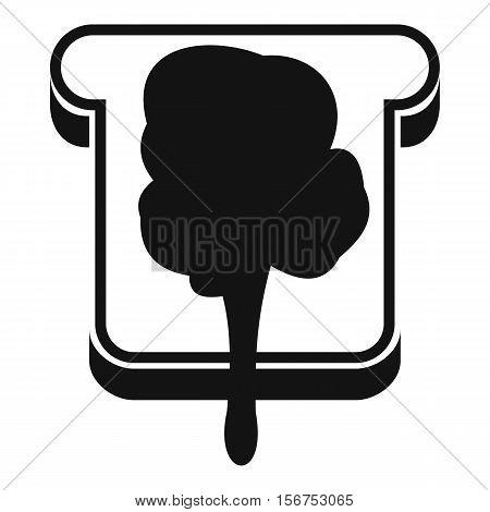 Bread icon. Simple illustration of bread vector icon for web