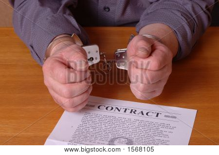Trapped In A Contract