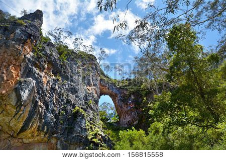 Carlotta Arch Jenolan Caves Blue Mountains New South Wales Australia