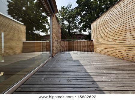hermosa casa ecológica, al aire libre