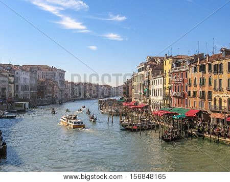 Canal Grande Aerial View