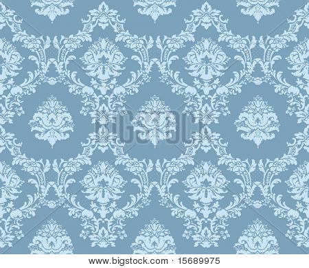 Seamless, tileable Baroque background