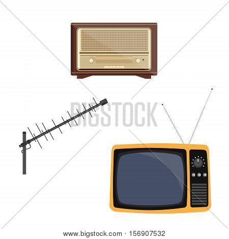 Radio, Tv And Antenna