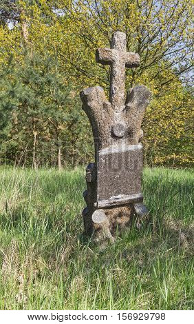 Cross On Old Cemetery