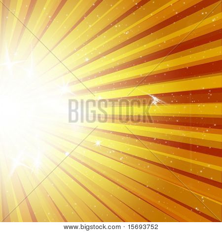 Star burst explosion background