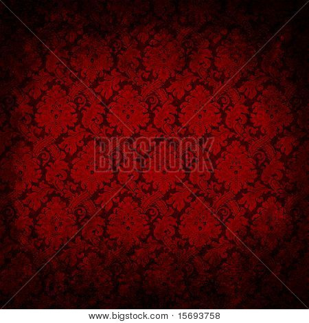 Dark red grungy vintage wallpaper