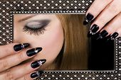 stock photo of nail salon  - Picture of beauty - JPG