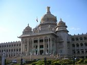 pic of vidhana soudha  - A panoramic view of the famous Vidhana Soudha  - JPG
