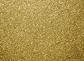 Gold Glitter Texture, Gold Color For Christmas Abstract Background. poster