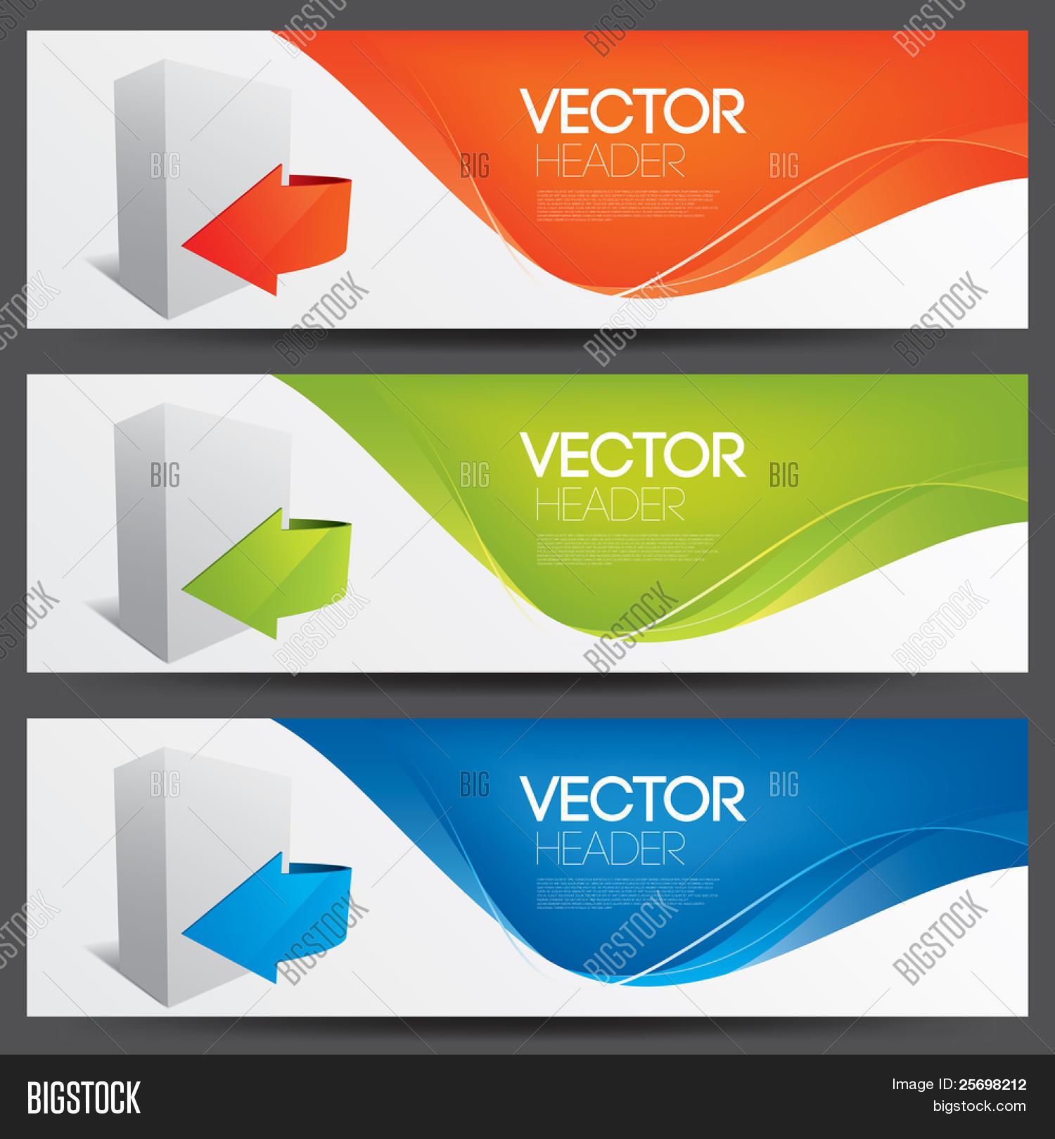 Vector Website Headers Software Vector Photo Bigstock