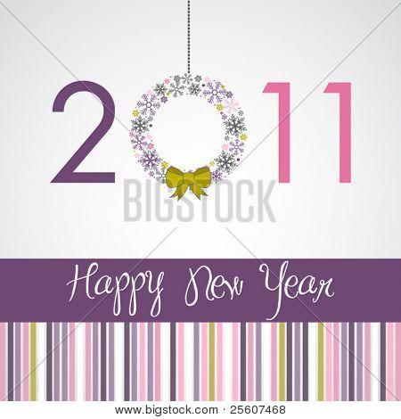 Happy New Year Card 2011