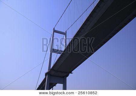 bosphor brigde linking europe to asia, bosphorus, istanbul, turkey