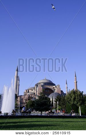 aya sofia basilica, sultanhamet, istanbul, turkey