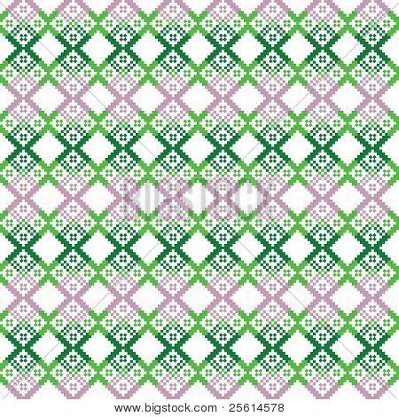 Slavic ornament pattern