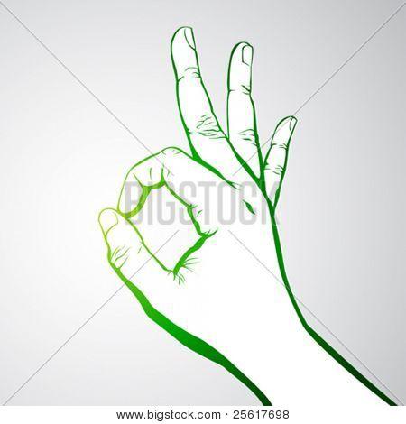 hand okay sign