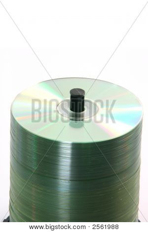 Stack Of Blank Cds