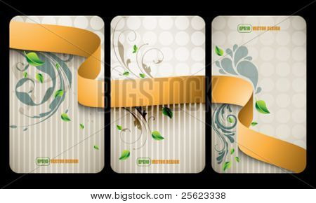 eps10 vector elegant vintage teaser advertisement design