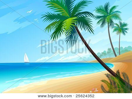 JOY ON THE BEACH