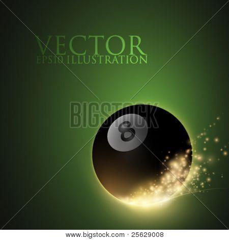 vector snooker/billard ball