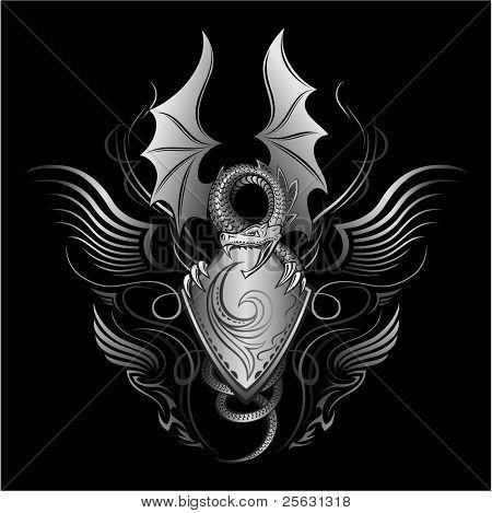 Fantasy Dragon Insignia