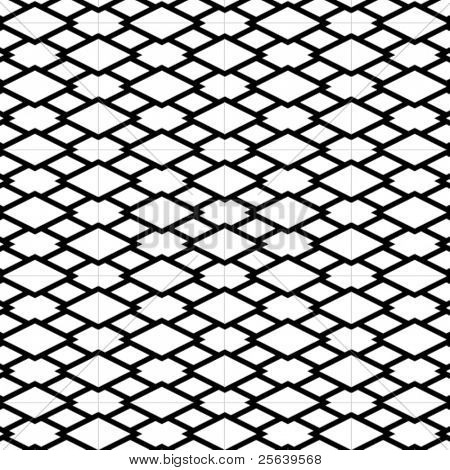 An intricate vector grill pattern in b&w.
